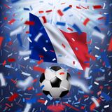 Fond de championnat du monde du football Image stock