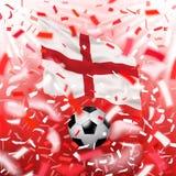 Fond de championnat du monde du football Image libre de droits