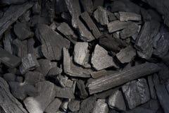 Fond de charbon de bois Photographie stock libre de droits