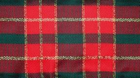 Fond de checkeredribbon de Noël Images stock