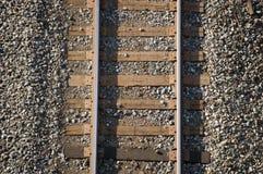 Fond de chemin de fer Photographie stock libre de droits