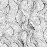 Fond de cheveux Affiche de salon de beauté Image libre de droits