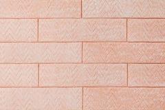 Fond de chewing-gum rose comme briques images stock