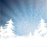 Fond de chimères de Noël Images libres de droits