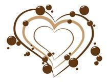 Fond de chocolat Image libre de droits