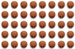 Fond de chocolats Image libre de droits