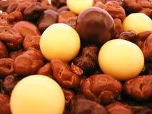 Fond de Chocolaty photos libres de droits