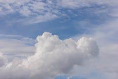 Fond de ciel bleu Images stock