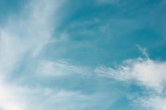 Fond de ciel bleu Image libre de droits
