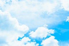 Fond de ciel bleu Photographie stock libre de droits