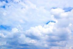 Fond 171016 0094 de ciel bleu et de nuages Images stock