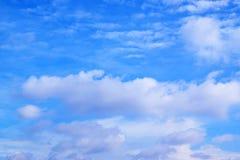 Fond 171017 0122 de ciel bleu et de nuages Image libre de droits