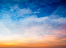 Fond de ciel d'imagination Photo stock