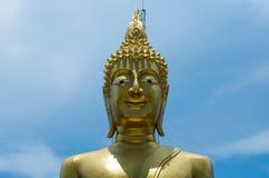 Fond de ciel de Bouddha Photographie stock libre de droits