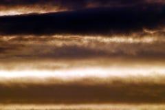 Fond de ciel de sépia Photo libre de droits
