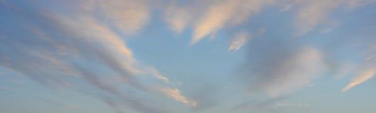 Fond de ciel et de nuages Photos libres de droits