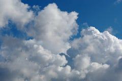 fond de Ciel-nuages Photo stock