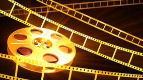 Fond de cinéma Photo libre de droits