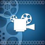 Fond de cinéma Photos stock