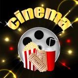 Fond de cinéma Photo stock