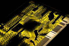 Fond de circuit Photos stock