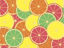 Fond de citron illustration de vecteur