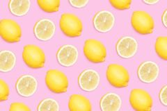 Fond de citron illustration stock