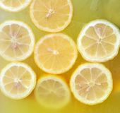 Fond de citronnade Photos libres de droits