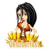 Fond de célébration d'Oktoberfest Image libre de droits