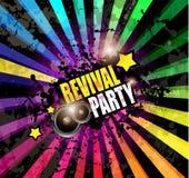 Fond de club de musique pour l'événement de danse de disco Photo stock