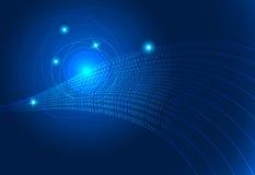 Fond de code binaire de fond de technologie Photos libres de droits