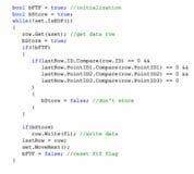 Fond de code source Photographie stock libre de droits