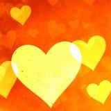 Fond de coeur illustration libre de droits