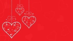 Fond de coeur Photographie stock libre de droits