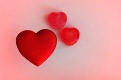 Fond de coeur Photo stock