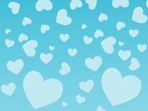 Fond de coeur Image libre de droits