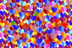 Fond de coeur Images stock