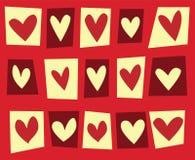 Fond de coeur Photographie stock