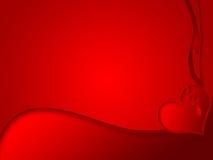 Fond de coeur cassé illustration libre de droits