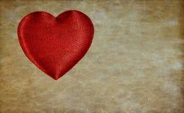 Fond de coeur, couleur d'or Images libres de droits