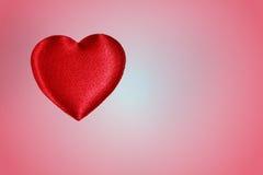 Fond de coeur, couleur rose Photos libres de droits