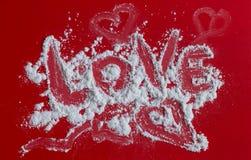 Fond de coeur d'amour, je t'aime Photo libre de droits