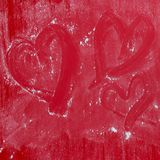 Fond de coeur d'amour, je t'aime Photos libres de droits