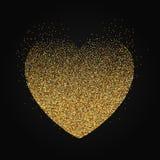 Fond de coeur de pointillé illustration libre de droits