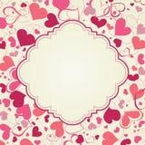 Fond de coeurs illustration stock