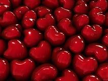 Fond de coeurs. Images stock