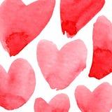 Fond de coeurs Image libre de droits
