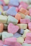 Fond de coeurs de sucrerie Photographie stock libre de droits