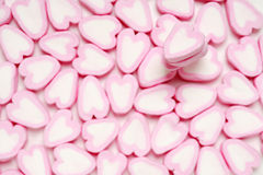 Fond de coeurs de sucrerie Photo stock
