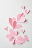 Fond de coeurs de valentines Photos libres de droits